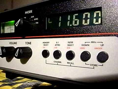 11600kHz Radio Libya music received in Japan : Lowe HF-225
