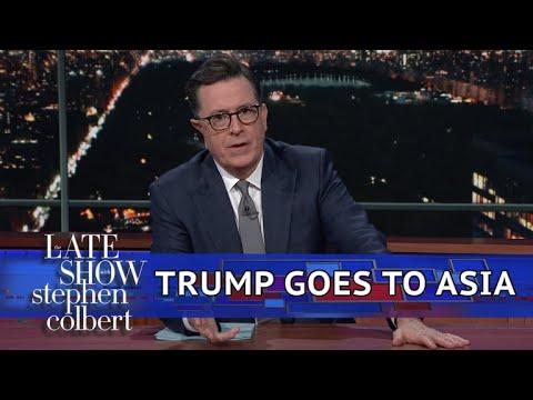 One Week Older, Trump Goes To Asia