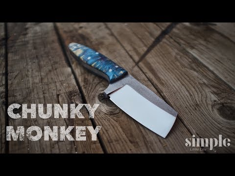 Making a Knife - The Chunky Monkey