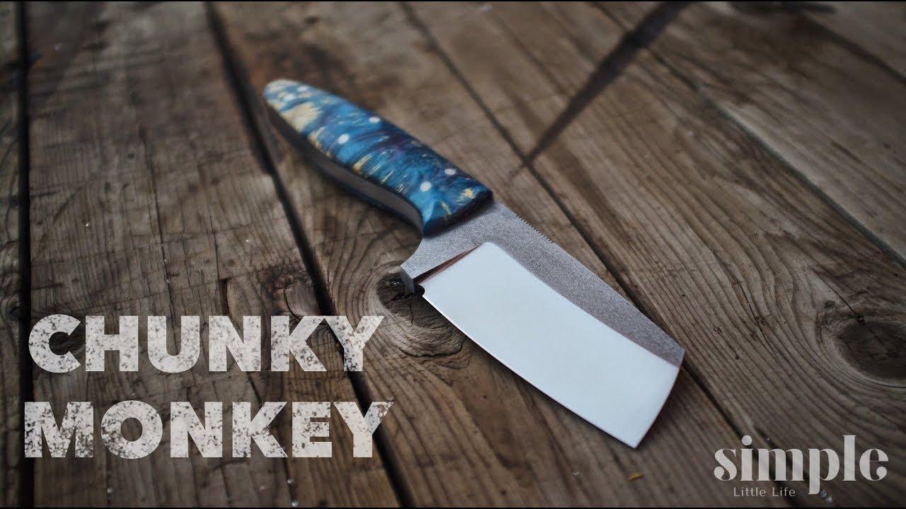 Making A Knife The Chunky Monkey Youtube