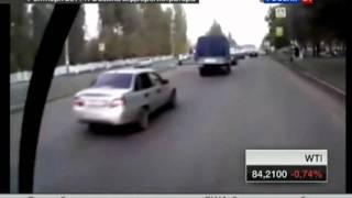 Женщина сбила мать и ребёнка в Брянске