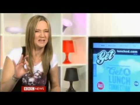 Get Lunched featured on BBC World News - Click getlunched review
