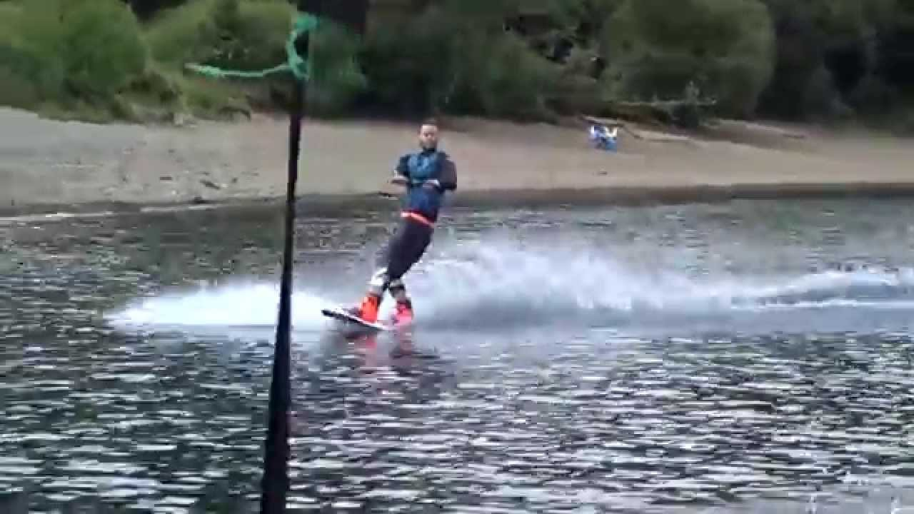 Wakeboarding tantrum