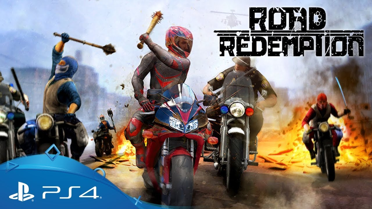 Road Redemption | Announcement Trailer | PS4 - YouTube