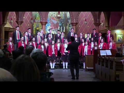 "O Nata Lux (from ""Lux Aeterna"") Morten Lauridsen, The Atonement Academy Honors Choir"