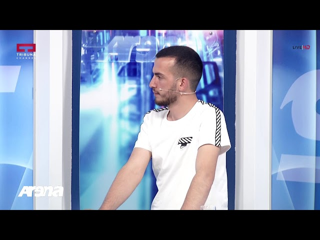 Arena Xhelal Karabeg, trajner i portierëve, Lekë Demjaha portier  19 06 2019
