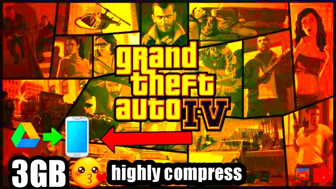 Gta 4 iso highly compressed pc