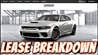 How To Break Down A Lease PAYMENT On A Hellcat REDEYE