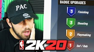 The Build With ONLY 9 BADGES In NBA 2K20