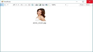 C# Tutorial - Display Image in Report Viewer | FoxLearn