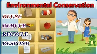 Environmental Conservation, The 4 R