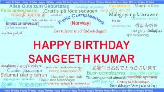 Sangeeth Kumar   Languages Idiomas - Happy Birthday