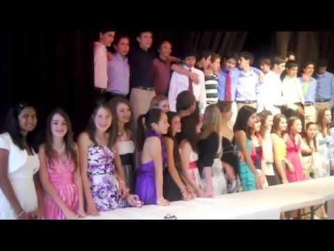 Alana's St Clements Middle School Graduation 2010