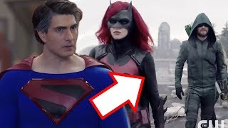 Crisis on Infinite Earths Teaser Trailer Breakdown! - Kingdom Come Superman & More!