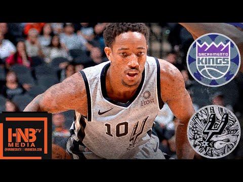 San Antonio Spurs vs Sacramento Kings Full Game Highlights | 11.12.2018, NBA Season