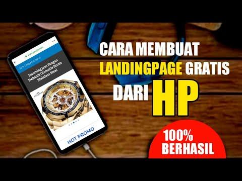 cara-membuat-landingpage-gratis-dari-hp