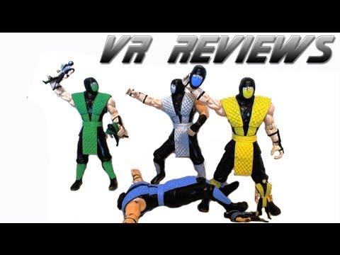 Vr Reviews Jazwares Mortal Kombat Box Set Scorpion Reptile