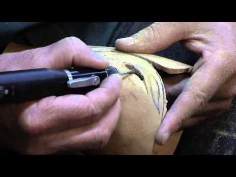 Neil Turner Carving & Texturing of Woodturnings