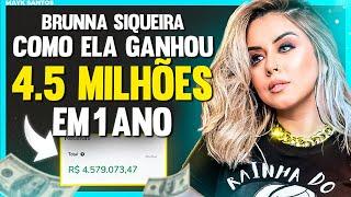 COMO ela GANHOU 4.5 MILHÕES com MARKETING DIGITAL - Brunna Siqueira | podcast #38