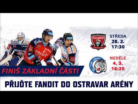 FINIŠ ZÁKLADNÍ ČÁSTI! Vítkovice versus Hradec a Liberec