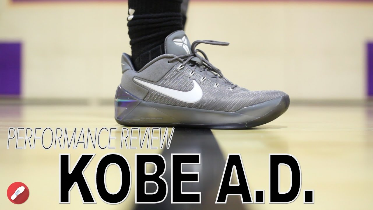 hot sale online 7415f 0eab4 Nike Kobe A.D. Performance Review!