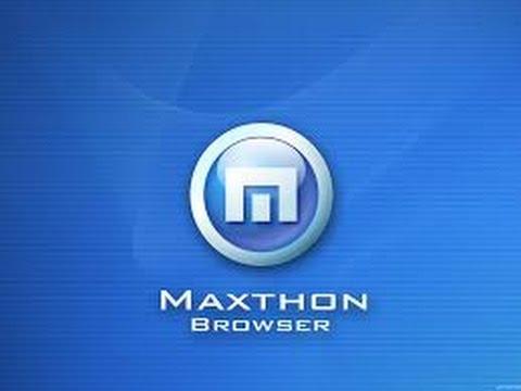 Cách sử dụng trình duyệt Maxthon