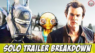 Solo: A Star Wars Story (Han Solo & Chewbacca Origins) Trailer Breakdown