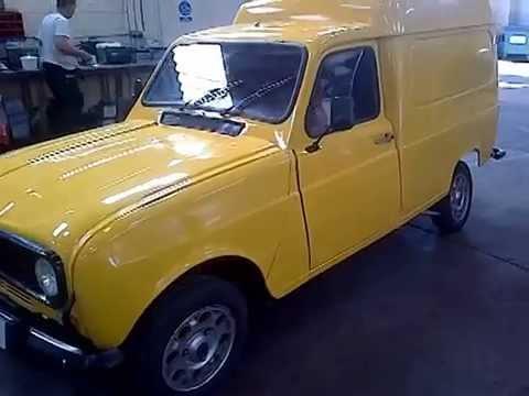 Renault 4 F6 Van Youtube