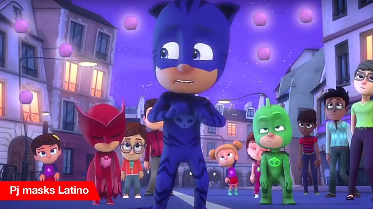 Pj masks Heroes en Pijamas Episodio nuevo y completo - Pelotas enlunadas latino