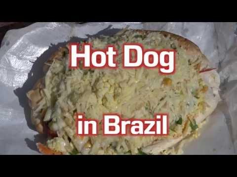 Hot Dog in Brazil - Brazilian Street Food