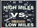Car Hating High Mileage vs Low Mileage Vehicles