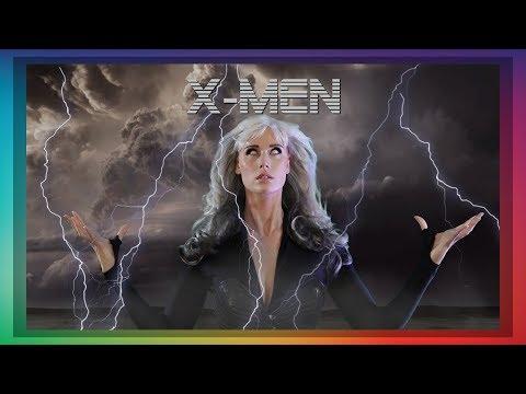 ASMR X-MEN STORM ROLE PLAY HALLOWEEN WHISPER RAIN SOUNDS
