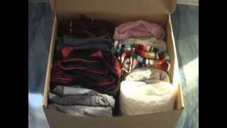 """Смена сезонной одежды. Моё хранение """"ненужной"""":)"""