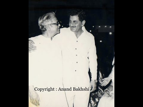 Anand Bakshi as Actor in a song in the film,
