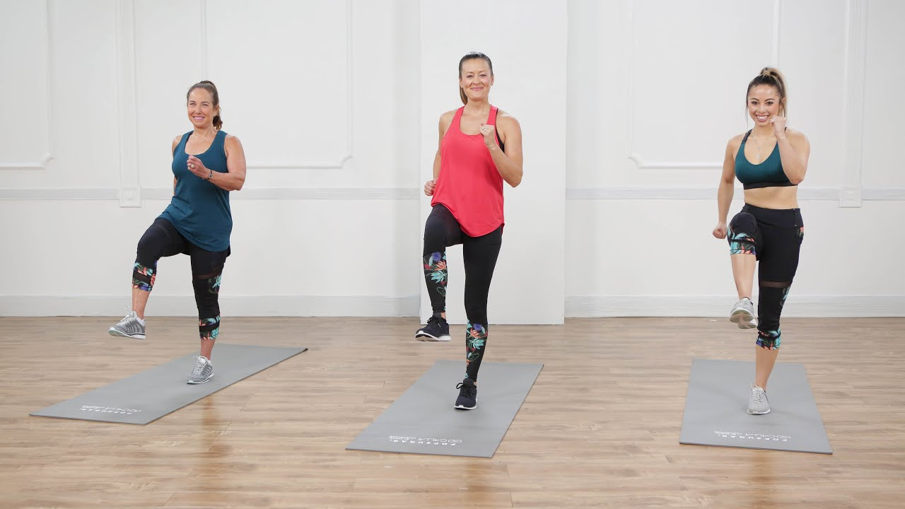 15-Minute No-Equipment, Full-Body Tabata Workout