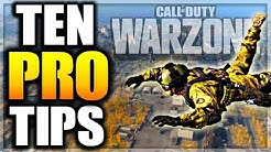 10 ADVANCED/PRO TIPS FOR WARZONE!! New Tips For COD WARZONE!