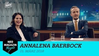Heute zu Gast: Annalena Baerbock | NEO MAGAZIN ROYALE mit Jan Böhmermann - ZDFneo