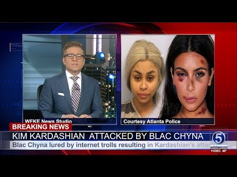 Breaking News :  Kim Kardashian - Blac Chyna Arrested
