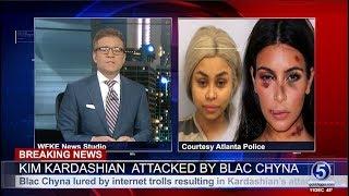 vuclip Breaking News :  Kim Kardashian - Blac Chyna Arrested