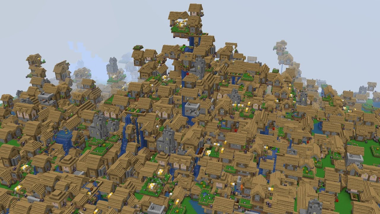 How To Create An Infinite Village World Non Flatmap