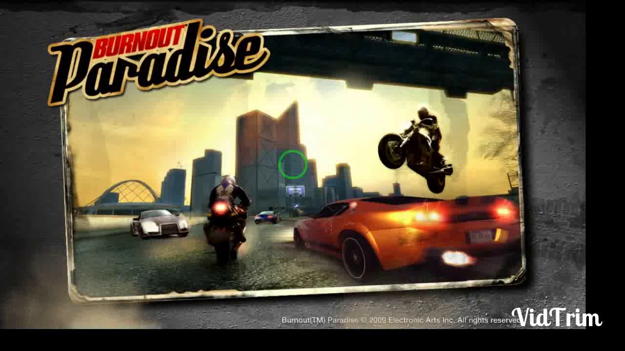 Burnout Paradise the ultimate box free download full version for PC in 900  mb Parts