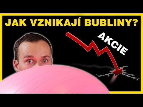 Proč můžeme být v další akciové bublině?