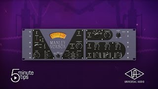 5-Minute UAD Tips: Manley VOXBOX Channel Strip Plug-In