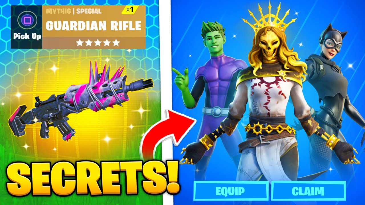 15 SECRETS in Fortnite's NEW UPDATE!