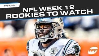 NFL Rookies to watch in Week 12  PFF