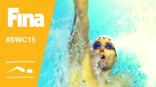 Camille LACOURT (FRA) wins 100m backstroke in Moscow