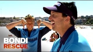 Reidy and Matt Dee Speaking Different Languages | Bondi Rescue S9