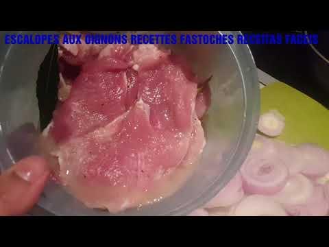 escalopes-(porc-ou-poulet-ou-dinde-)-aux-oignons-😊