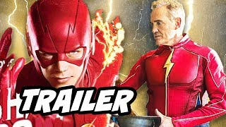 The Flash Season 4 DCTV Promo and Team Flash Changes Breakdown