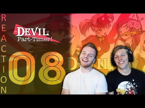 SOS Bros React - Devil Is A Part Timer Episode 8 - Confessions and Confusion